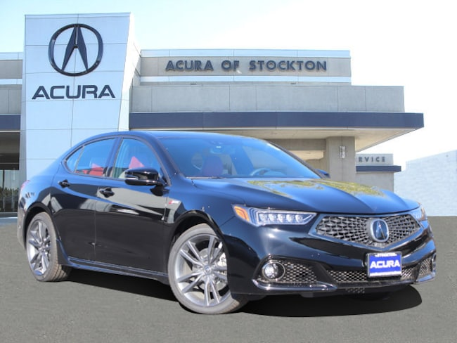 New 2019 Acura TLX 3.5 V-6 9-AT P-AWS with A-SPEC RED Sedan in Stockton, CA