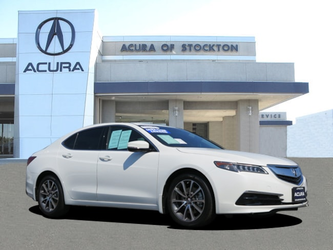 Used 2017 Acura TLX V6 with Technology Package Sedan Stockton