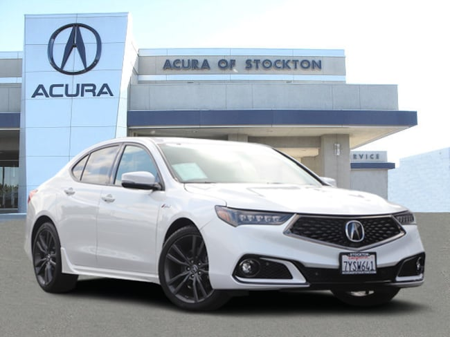 Used 2018 Acura TLX 3.5L Tech & A-Spec Pkgs Sedan Stockton