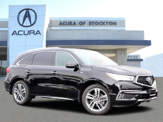 New 2019 Acura MDX Sport Hybrid SH-AWD with Advance Package SUV in Stockton, CA