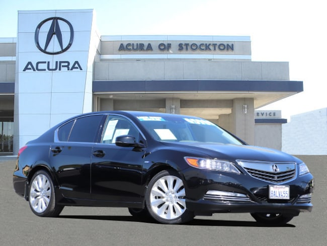 Certified Used 2016 Acura RLX Sport Hybrid Base w/Advance Package (DCT) DEALER LOANER Sedan Stockton