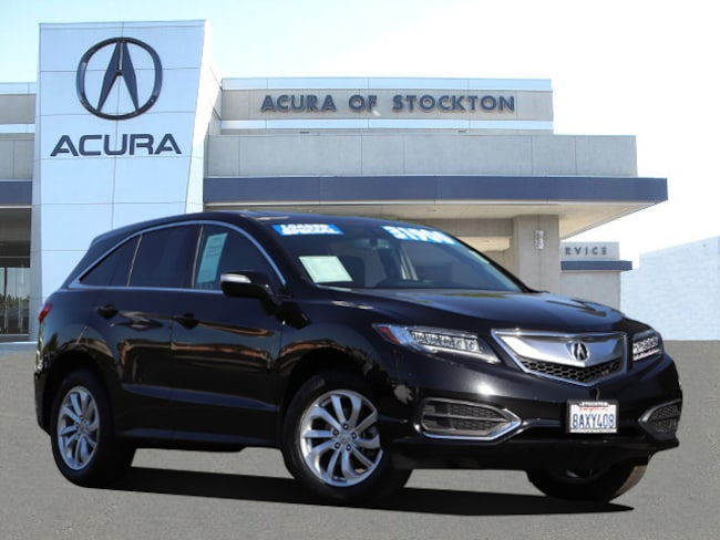 Certified Used 2018 Acura RDX V6 with Technology Package*Dealer Loaner SUV Stockton