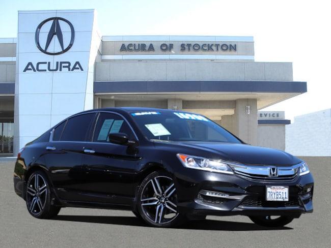 Used 2016 Honda Accord Sport Sedan Stockton