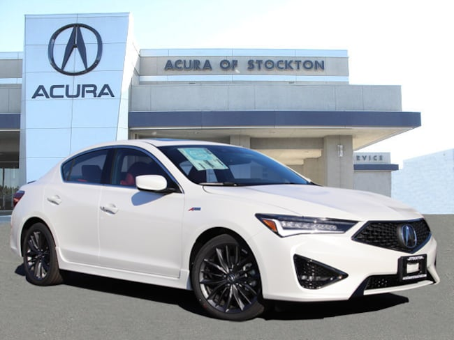 New 2019 Acura ILX with Premium and A-Spec Package Sedan in Stockton, CA