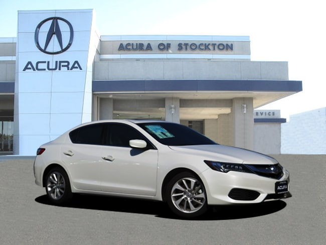 New 2017 Acura ILX with Technology Plus Package Sedan in Stockton, CA