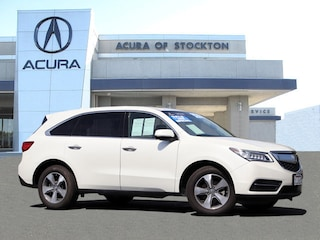 Certified 2016 Acura MDX MDX SH-AWD 5FRYD4H26GB014662 for sale in Stockton, CA at Acura of Stockton