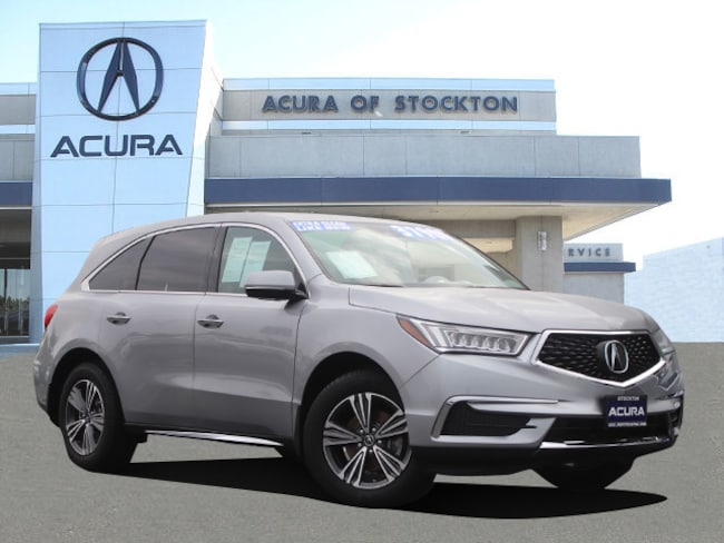 Certified Used 2017 Acura MDX V6 SUV Stockton