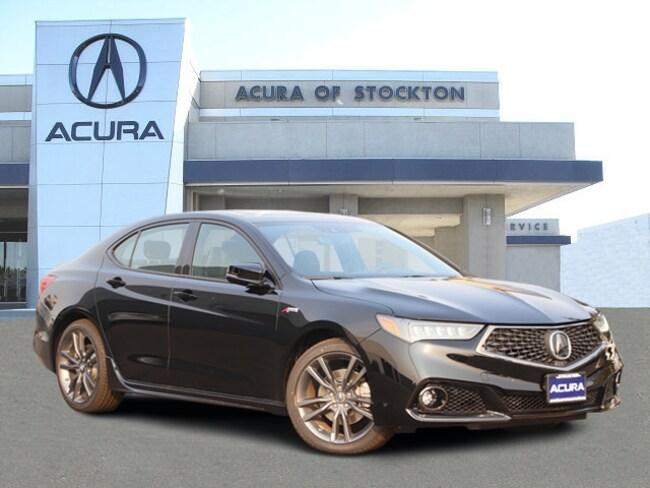 New 2019 Acura TLX 3.5 V-6 9-AT P-AWS with A-SPEC Sedan in Stockton, CA