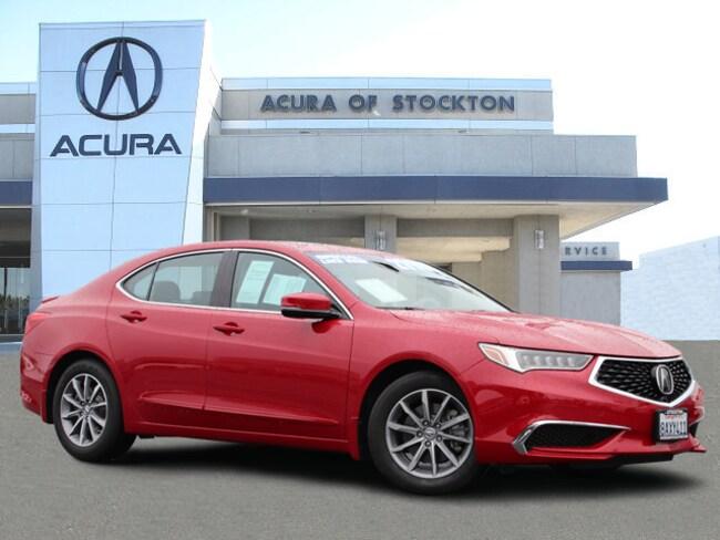 Certified Used 2018 Acura TLX 2.4L Tech Pkg - Dealer Loaner Sedan Stockton