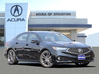 New 2019 Acura TLX 3.5 V-6 9-AT P-AWS with A-SPEC RED Sedan 12879 in Stockton, CA