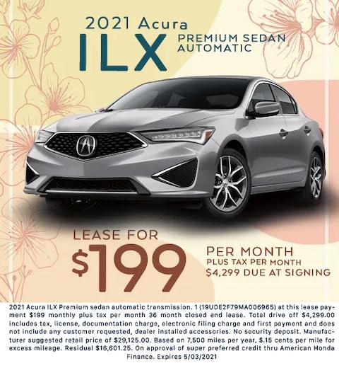 2021 Acura ILX - $199