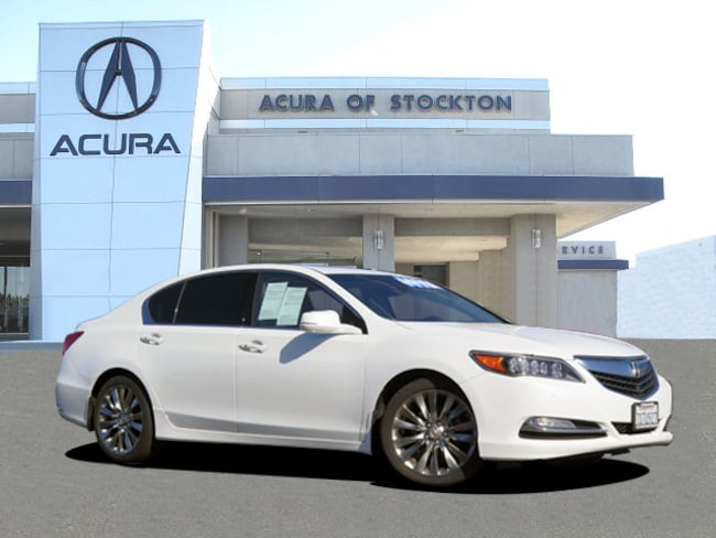 Used 2016 Acura RLX Dealer Loaner RLX with Advance Package Sedan Stockton