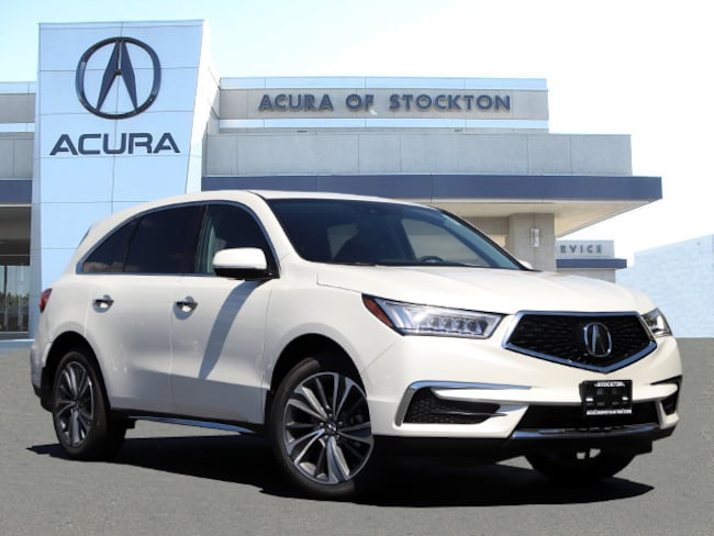 New 2019 Acura MDX SH-AWD with Technology Package SUV in Stockton, CA