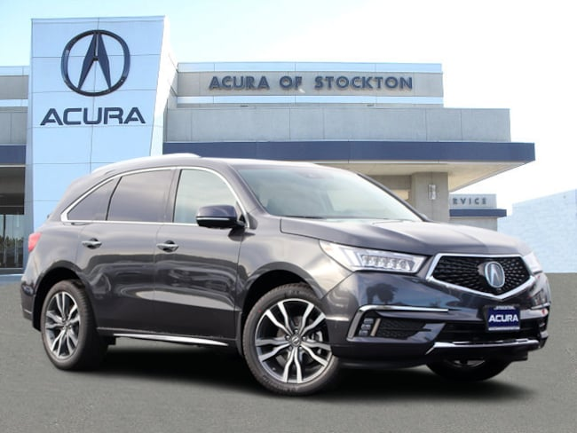 New 2019 Acura MDX with Advance Package SUV in Stockton, CA