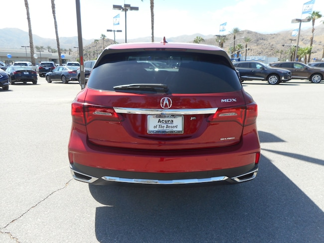 New 2019 Acura Mdx For Sale At Acura Of The Desert Vin