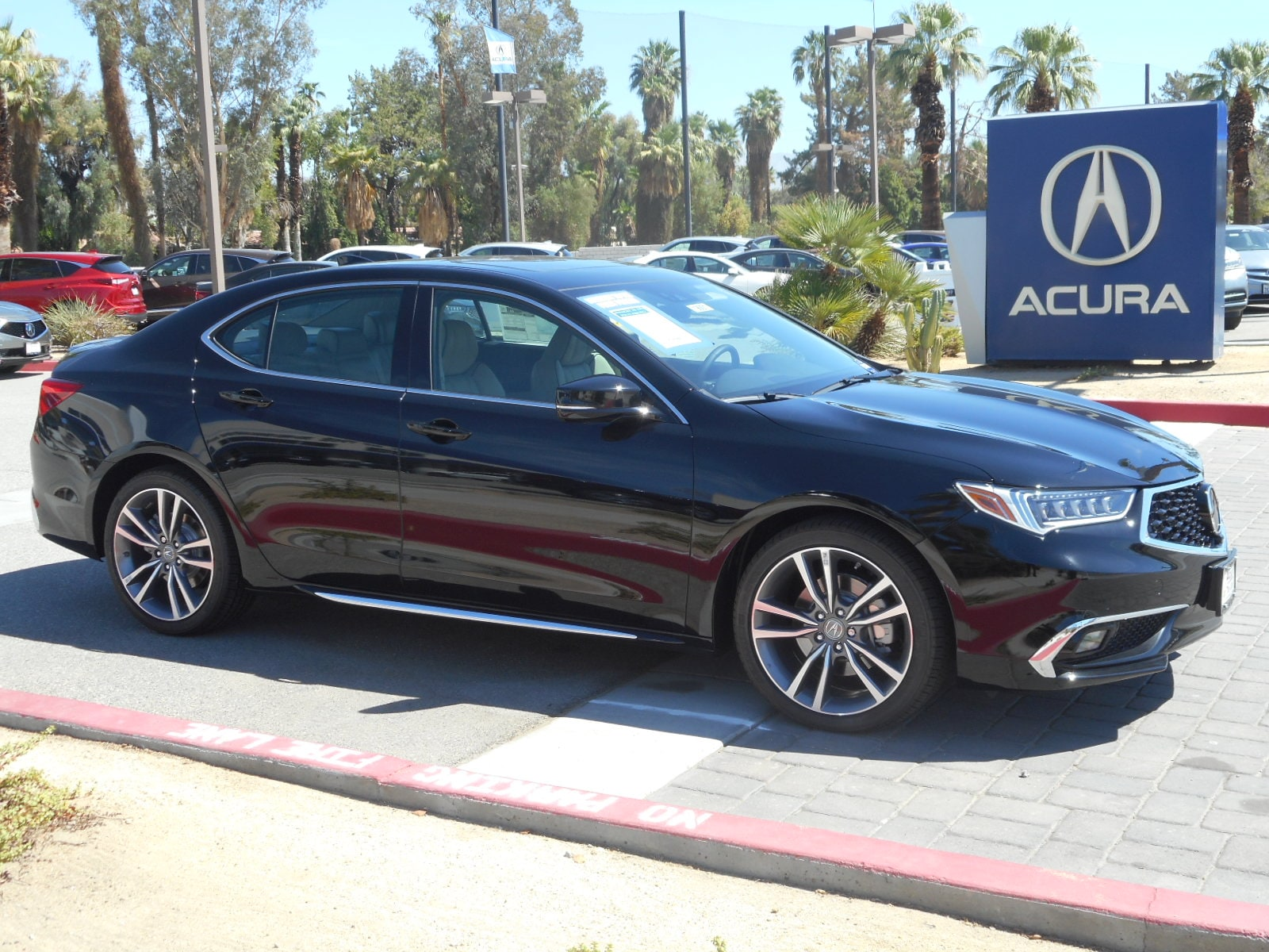 2019 Acura TLX 3.5 V-6 9-AT P-AWS with Advance Package Sedan
