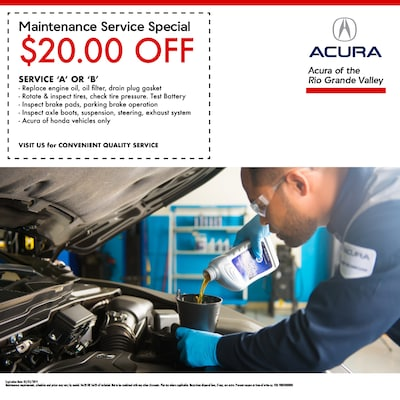 $20.00 Off Maintenance Service Special
