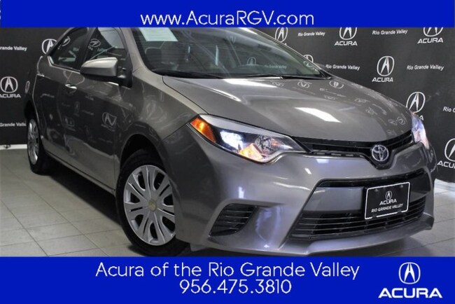 used 2016 Toyota Corolla LE Sedan For Sale San Juan, TX