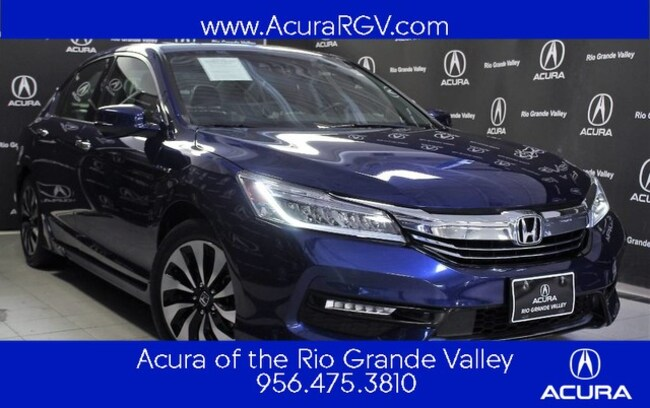 used 2017 Honda Accord Hybrid Touring Sedan For Sale San Juan, TX