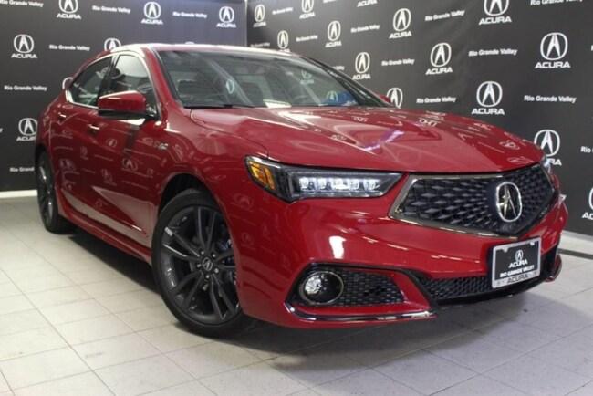 Certified Pre-Owned 2019 Acura TLX 3.5L Tech & A-Spec Pkgs Sedan For Sale San Juan TX
