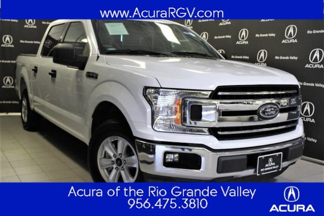 used 2018 Ford F-150 XLT Truck SuperCrew Cab For Sale San Juan, TX