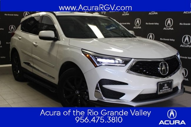 New 2019 Acura RDX SH-AWD with Technology Package SUV For Sale/Lease San Juan, TX