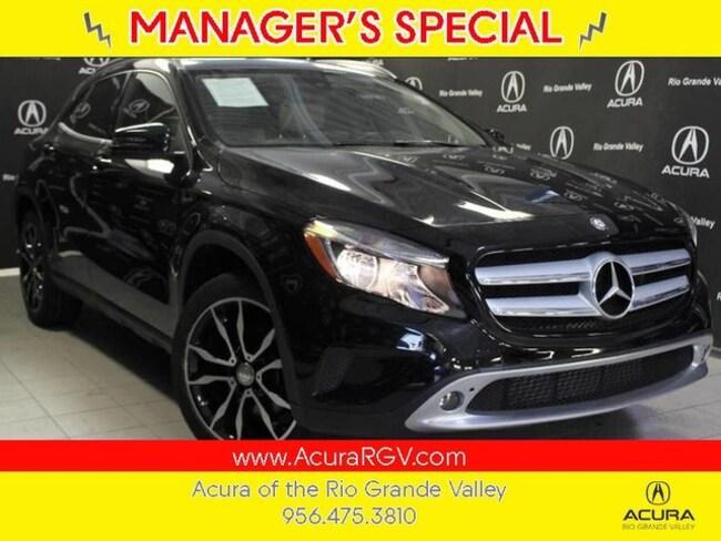 used 2016 Mercedes-Benz GLA 250 GLA 250 SUV For Sale San Juan, TX