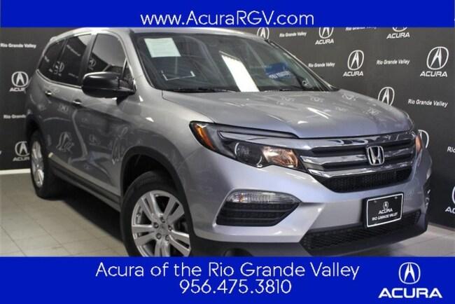 used 2018 Honda Pilot LX SUV For Sale San Juan, TX