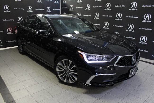 Certified Pre-Owned 2018 Acura RLX V6 with Technology Package Sedan For Sale San Juan TX