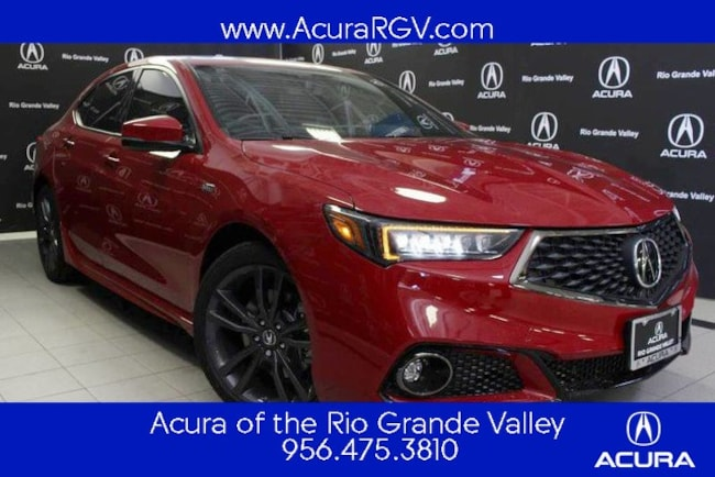 New 2019 Acura TLX 3.5 V-6 9-AT P-AWS with A-SPEC Sedan For Sale/Lease San Juan, TX