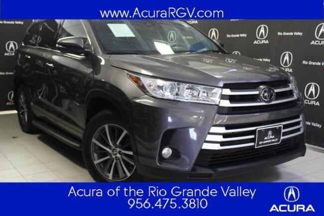 used 2017 Toyota Highlander XLE SUV For Sale San Juan, TX