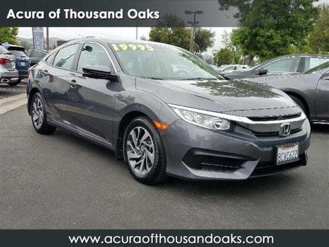 Honda Thousand Oaks >> Used 2018 Honda Civic For Sale At Acura Of Thousand Oaks Vin