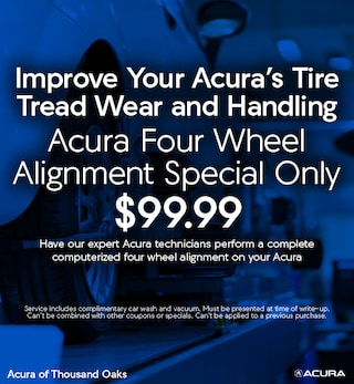 Acura Four-Wheel Alignment Special