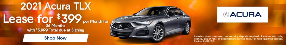 October 2020 TLX Special