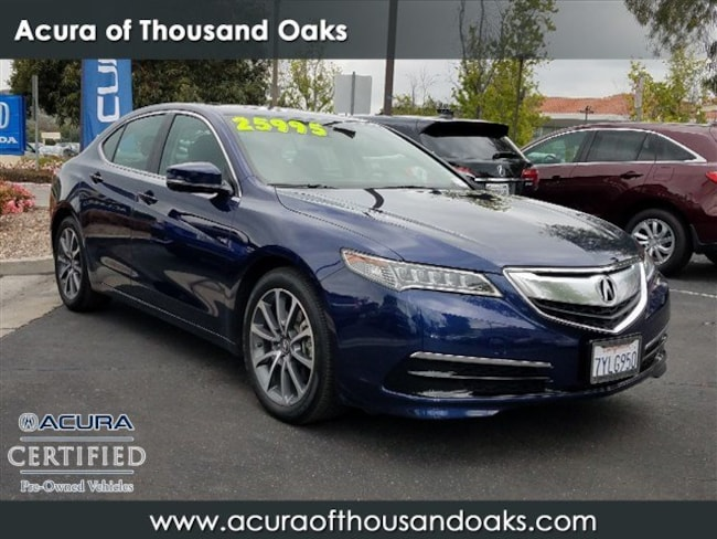 Acura Sedan 2017 >> Used 2017 Acura Tlx For Sale At Acura Of Thousand Oaks Vin