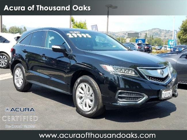 Acura Thousand Oaks >> Used 2017 Acura Rdx For Sale At Acura Of Thousand Oaks Vin