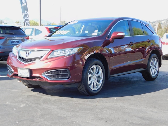 used 2016 acura rdx for sale at acura of thousand oaks   vin