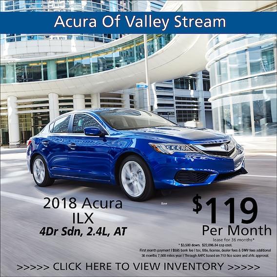 Acura Of Valley Stream New Acura Dealership In Lynbrook NY - Acura ilx lease