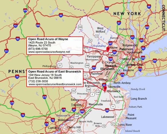 Open Road Acura Wayne >> Open Road Acura | New Acura dealership in Bridgewater, NJ ...