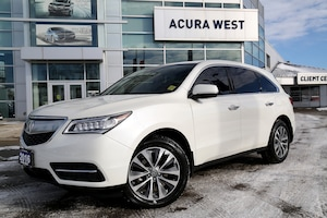 2016 Acura MDX Navigation Package New tires, extended warranty