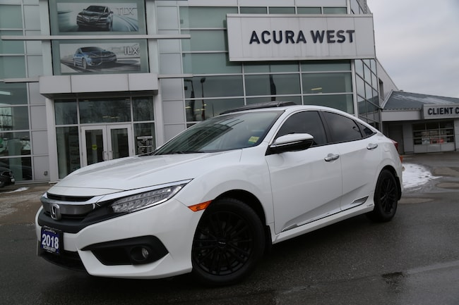 2018 Honda Civic Touring Extended warranty, 2 sets of tires Sedan