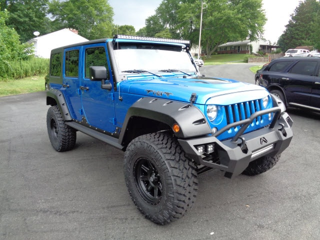 Customized Jeep Models At Adams Jeep Aberdeen Bel Air Md
