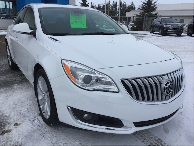 Certified Used 2017 Buick Regal Premium, Navigation, All-Wheel Drive, Leather Sedan Wetaskwin