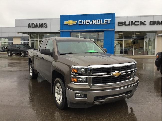 Used 2014 Chevrolet Silverado 1500 LT, Heated Front Bench, Remote Start, CD Player Truck Double Cab Wetaskiwin & Ponoka Area
