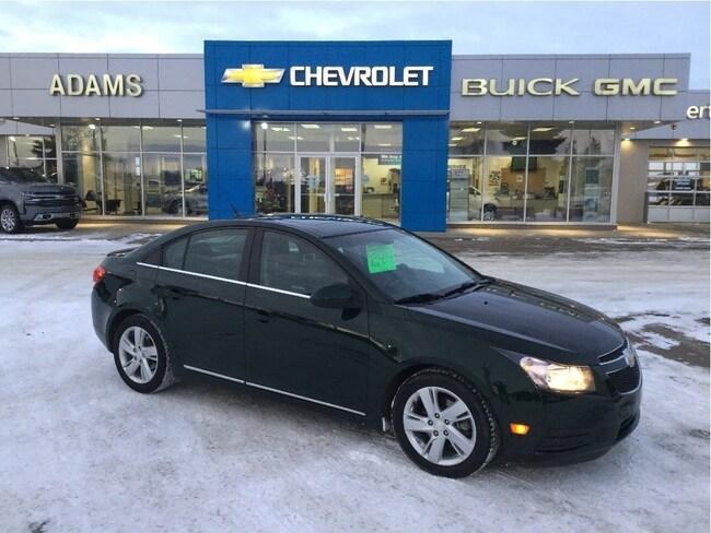 Certified Used 2014 Chevrolet Cruze Diesel, Leather, Remote Start, Sunroof Sedan Wetaskwin