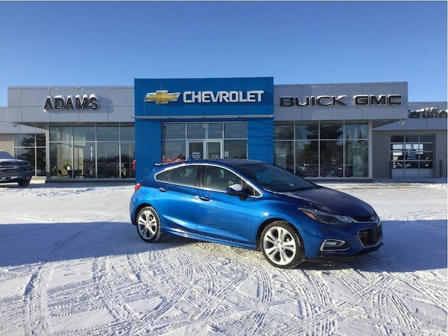 Used 2018 Chevrolet Cruze Premier, RS, HTD Seats & Sterring Wheel, Lthr Hatchback Wetaskiwin & Ponoka Area