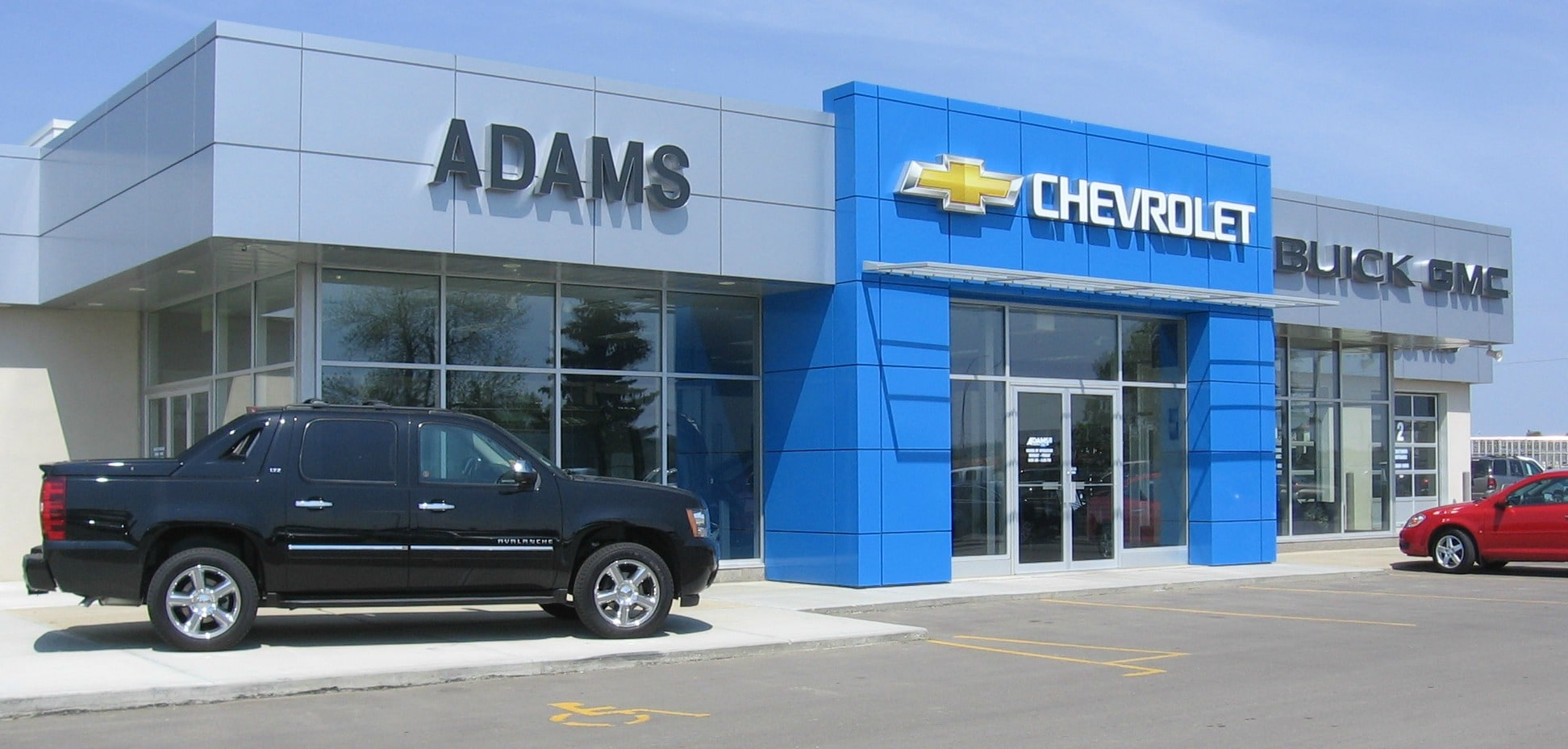 Discount Tire Hours Sunday >> Chevrolet Buick GMC Dealer in Ponoka | Adams Chevrolet ...