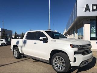 New 2019 Chevrolet Silverado 1500 High Country Truck Crew Cab 1GCUYHEL5KZ284607 In Wetaskiwin & Ponoka, AB