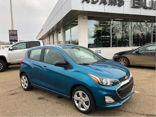 New 2019 Chevrolet Spark LS CVT OnStar, Rear Vision Camera! Hatchback KL8CB6SA5KC708402 In Wetaskiwin & Ponoka, AB
