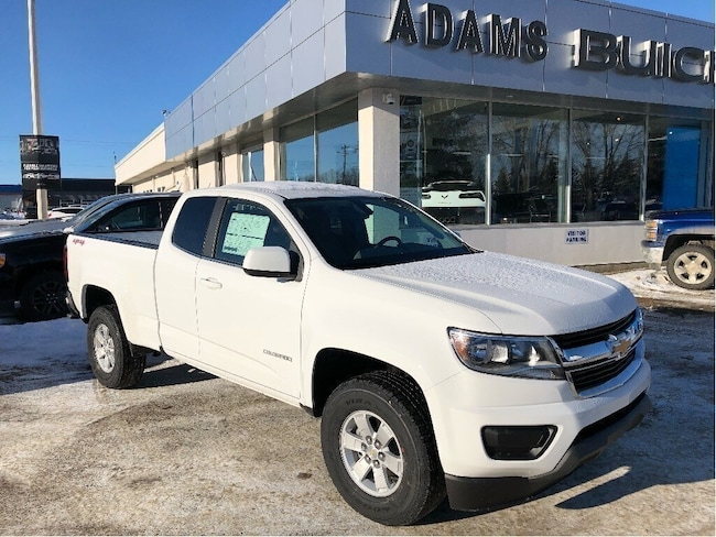 New 2019 Chevrolet Colorado WT Truck Extended Cab Wetaskiwin and Ponoka